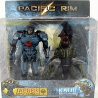PACIFIC RIM 2PACK - GIPSY DANGER VS KNIFEHEAD KAIJ