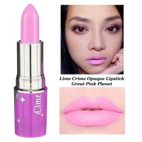 Lime Crime Opaque Lipstick Great Pink Planet