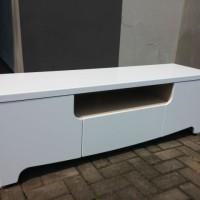 harga Meja Tv Prodesign Legia 1.5m White Glossy Modern Minimalis Berkualitas Tokopedia.com