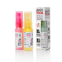 Anti Tick Spray, Obat Semprot Pembasmi Kutu Anjing & Kucing
