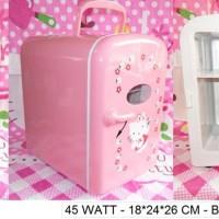 Kulkas / Cooler Box / Lemari Es Mobil / Kamar Hello Kitty