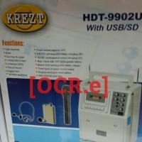 harga Krezt Hdt-9902u Portable Wireless Pa Amplifier Tokopedia.com