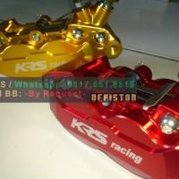 Kaliper 4 Piston KRS (Model Brembo)