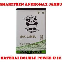 Baterai Smartfren Andromax Jambu Double Power Rakki Panda