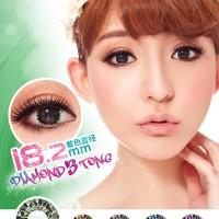 Softlens Coco Eye Diamond 3 Tones Green (Hijau)