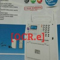 harga Krezt Hdt-9903nxr Portable Wireless Pa Amplifier Tokopedia.com