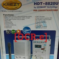 harga Krezt Hdt-8820u Portable Wireless Pa Amplifier Tokopedia.com
