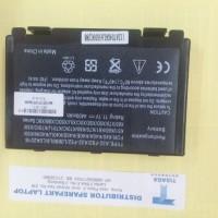 Baterai Asus K40, K50, K51, K60, K61, K70, K80 X50, X65, X70, X5D/E/C