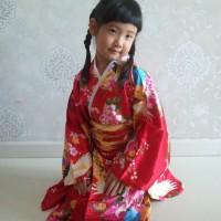Kimono jepang classic dengan obi tali