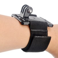 Wrist Strap Band Mount for GoPro Hero 2,3,4 & Sjcam 4000, 5000, 6000