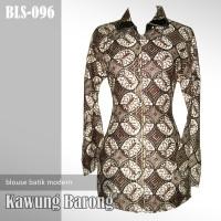 BLOUSE BATIK MODERN | Kawung Barong | BLS-096