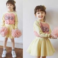 Set Barbie Yellow