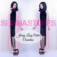 harga Jersey Long Outer / Hijabers / Cardigan / Blazer / Panjang / Dress Tokopedia.com