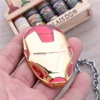 Kalung Avenger Iron Man superhero merah Necklace Original Marvel