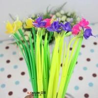 Pulpen Silikon Berbentuk Anggrek Ngengat (Phalaenopsis Blume)