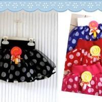 Lollypop tulle polka skirt