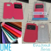 harga Flip Cover Leather Ume Enigma View Case Samsung Galaxy S6 Edge Tokopedia.com