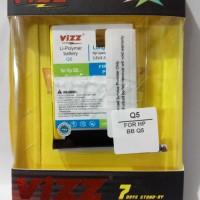 Battery Double Power Vizz Blackberry Q5 3000mah
