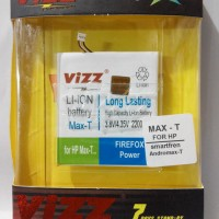 Battery Double Power Vizz Smartfren Andromax T 2200mah