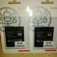Baterai Battery Lenovo BL196 BL-196 For P700 P700i Original OEM New