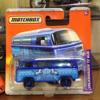 Matchbox Volkswagen VW T2 Bus Blue Horse Short Card