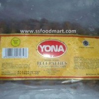 Jual Daging Burger Grill Beef Patties Yona isi 10 pcs Murah
