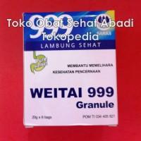 999 Wei Tai Granule (Obat maag, pencernaan, nyeri dan radang lambung, mual, muntah, dan perut kembung)