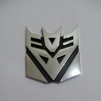 Jual Emblem Transformers Decepticon Small Murah