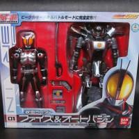Super RHF Masked Rider Faiz 555 & Autovagin Original Bandai