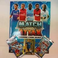 Main Kartu Bola Soccer topps Match Attack trading card game