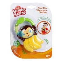 Bright Starts Banana Vibrating Teether Color Yellow Age 0M+
