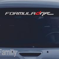 Sticker kaca depan mobil_formula drift