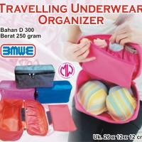 Travelling Underwear Pouch Organizer travel cd bra BH panties Monopoly