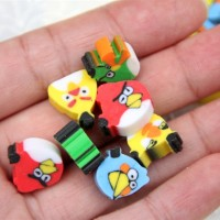 Jual Penghapus Mini Berbentuk Angry Birds Murah