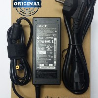 Adaptor/Charger Laptop/Notebook Acer Original 19V-3,42A Bonus Kabel Power