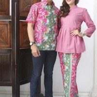 Sarimbit Batik RokBlus Panjang Sakura