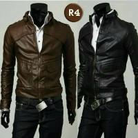 harga jaket style semi kulit Tokopedia.com