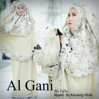 Mukena Al Gani Prada Gold