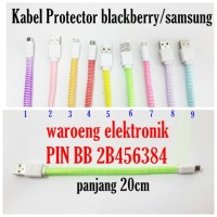 kabel protector blackberry/samsung