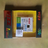 Battery Vizz Smartfren Andromax T 2200mAh AD682 Baterai Double Power