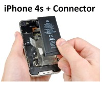 iPhone 4s HQ Li-ion Replacement Battery 1420mAh with Connector