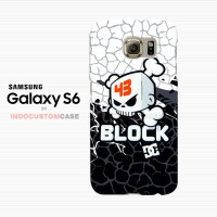 Ken Block DC Shoes Logo Skull 43 Samsung Galaxy S6 Custom Hard Case