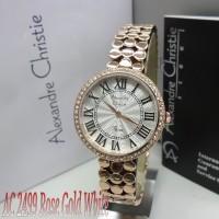 Alexandre Christie AC 2499 Rose Gold White