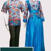 Couple GAMIS Muslimah Hijab Batik Betharia
