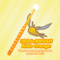 360 Do Toothbrush Kids Orange