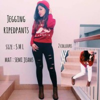 Jegging RipedPants