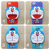 Casing Doraemon Face Emoticon Case for iPhone 5 / 5S