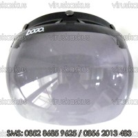 Kaca Helm Visor Mika Bogo Cembung Bubble Retro Classic Vespa BG 06