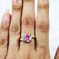 harga Cincin Wanita / Cewek Batu Diamond Emban Koin Uang500 Tokopedia.com