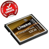 Kingston Compact Flash Memory Card Ultimate 600x (90MB / S) 32GB - CF / 32